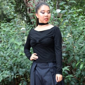Bowie Choker Top in Black cover