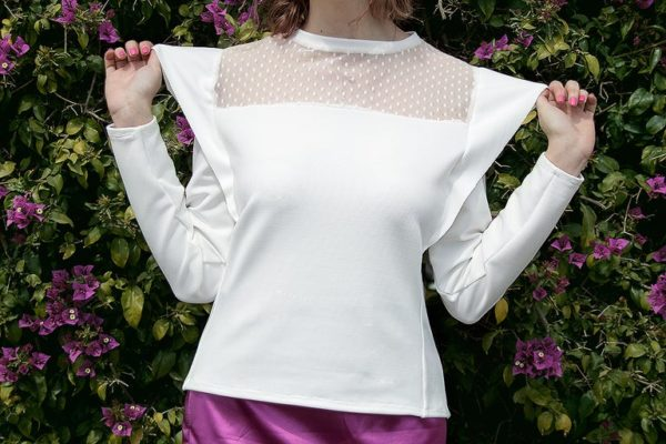 Creamy Lavender white top cover