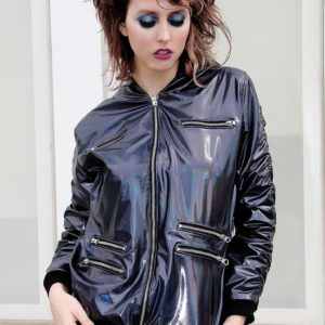 Holotastic black holographic deluxe Jacket cover