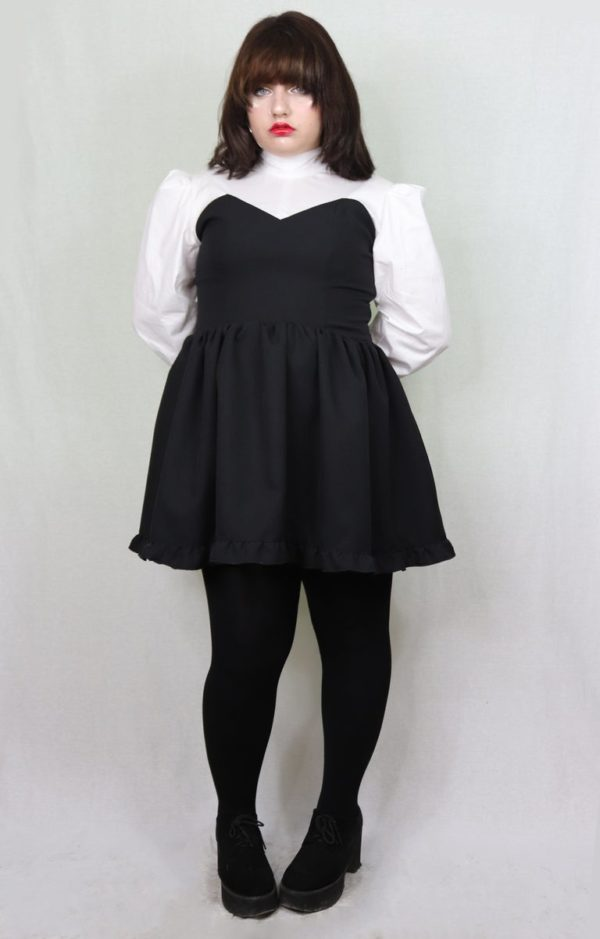 Imadoki Urban Lolita dress in black cover