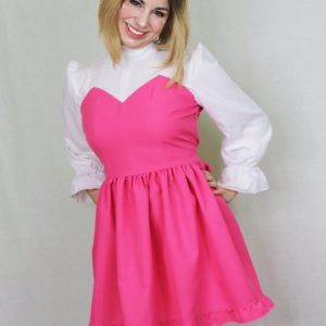 Imadoki Urban Lolita dress in pink cover