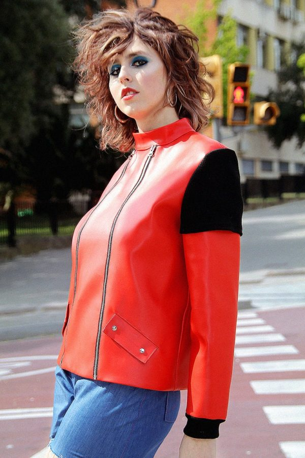 Neo-Tokyo leather Jacket cover