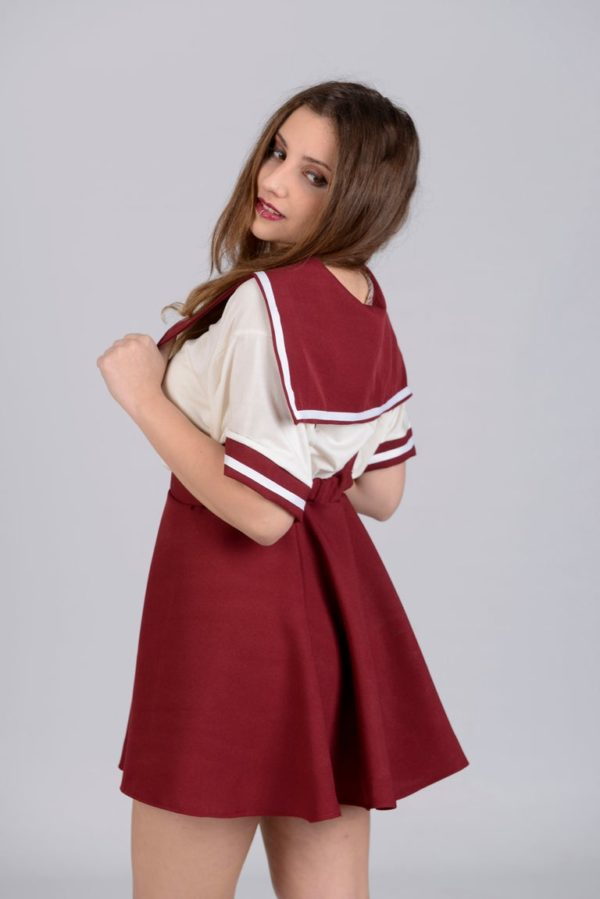 Ribbobasics Set Burgandy detail 1
