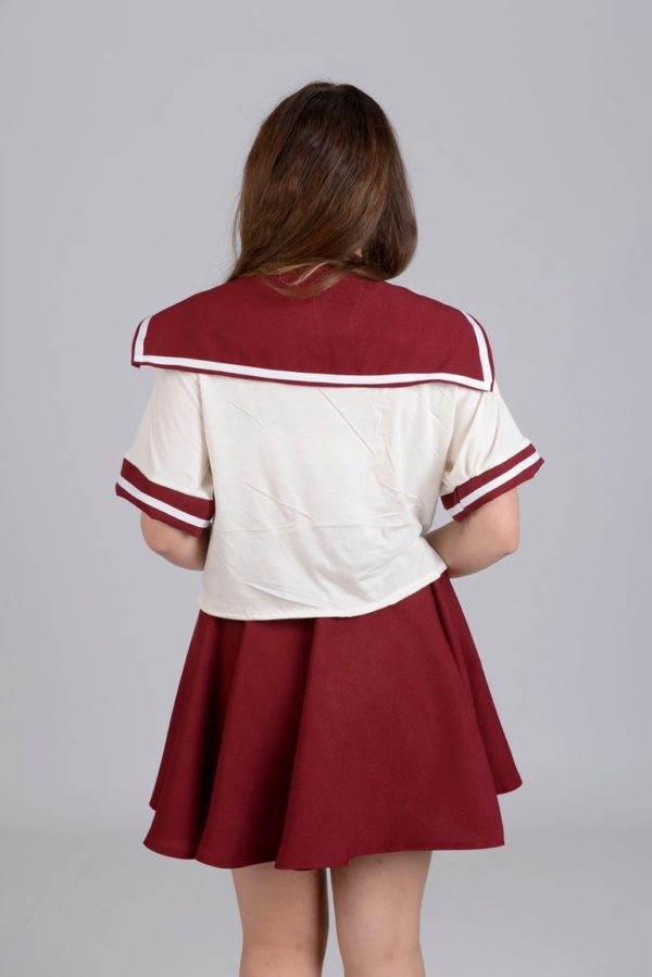 Ribbobasics Set Burgandy detail 2