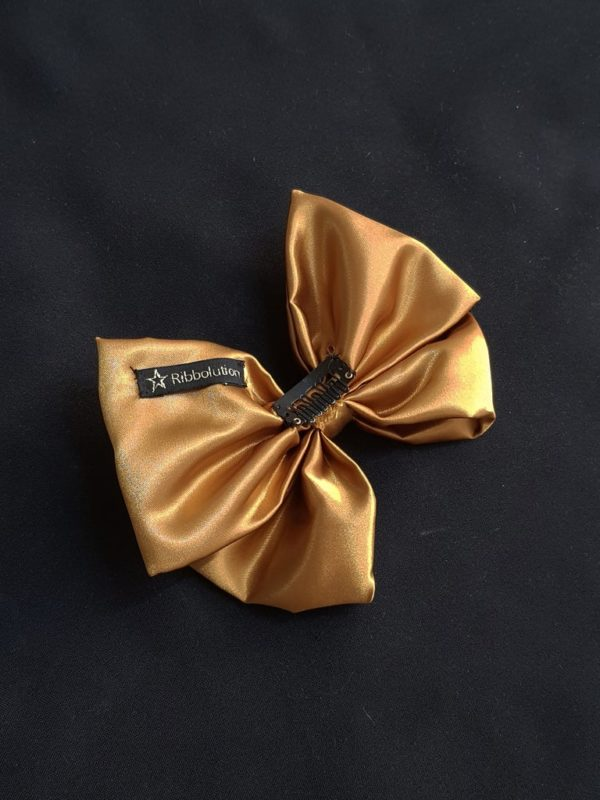 Ribbolutton Official Bow in Gold detail