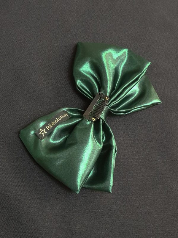 Ribbolutton Official Bow in Green detail