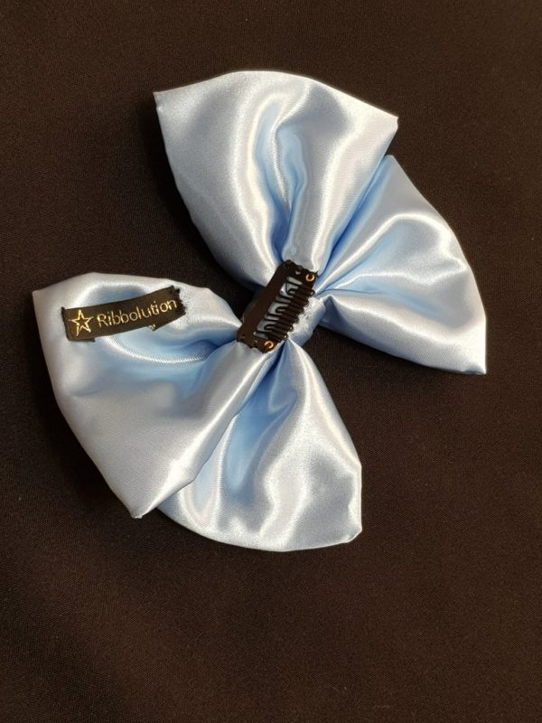 Ribbolutton Official Bow in Light Blue detail