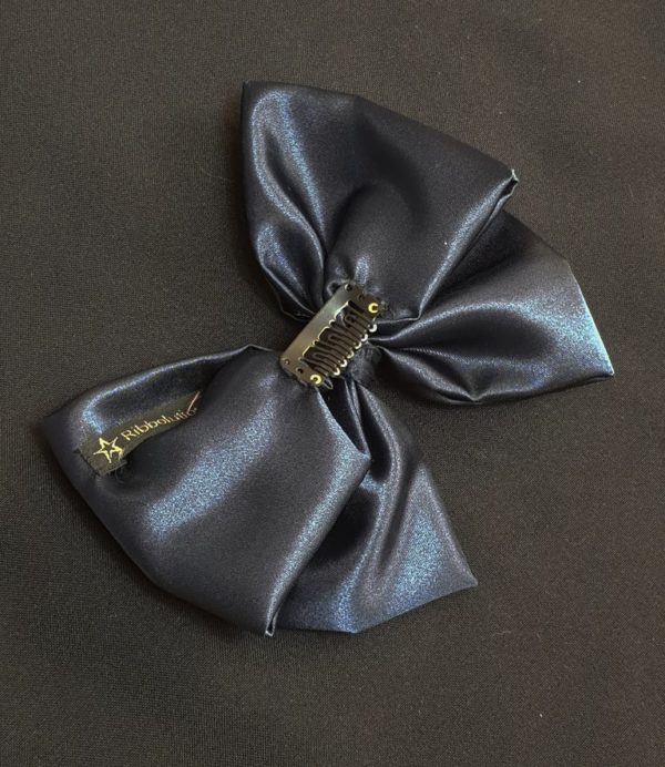 Ribbolutton Official Bow in Navy Blue detail
