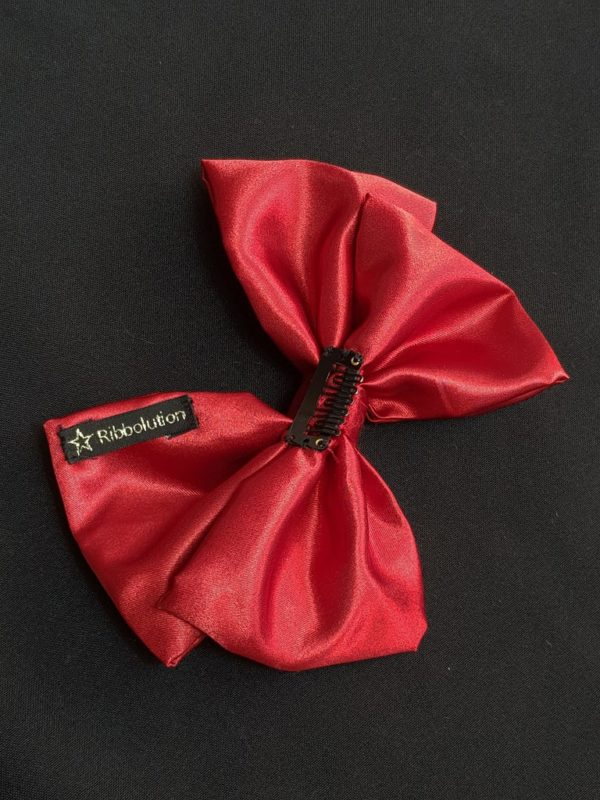 Ribbolutton Official Bow in Red detail
