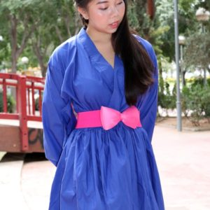 Urban Blue Kimono Dress cover