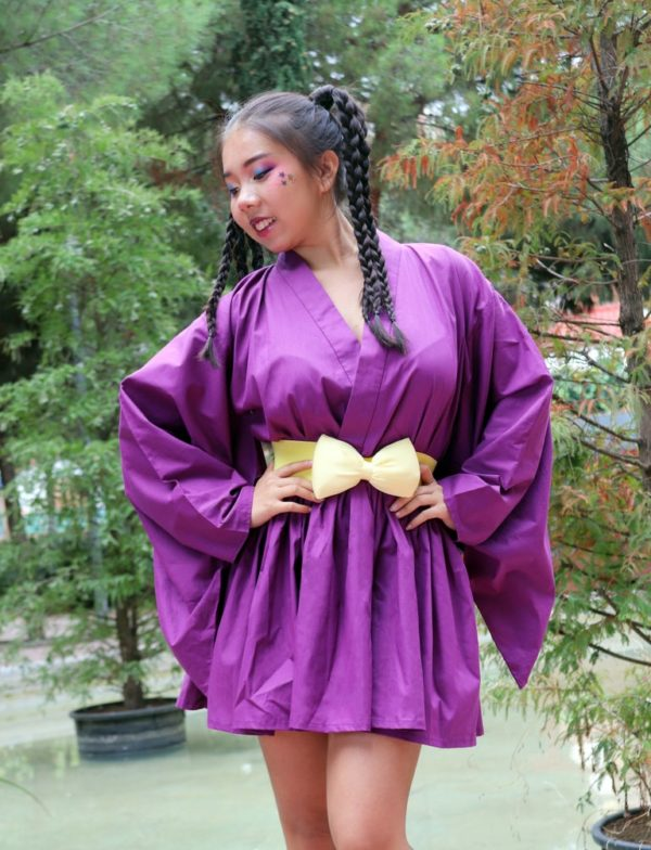 Urban Purple Kimono Dress cover