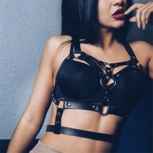 Bust and waistline enhance harness