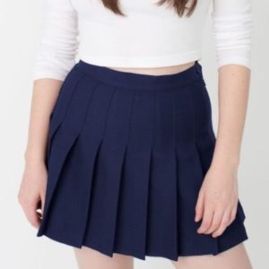Navy blue basic tennis skirt cover