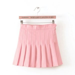 Pink basic tennis skirt cover