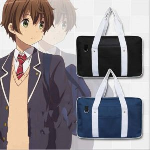 School style cosplay Bag in Black and Blue cover