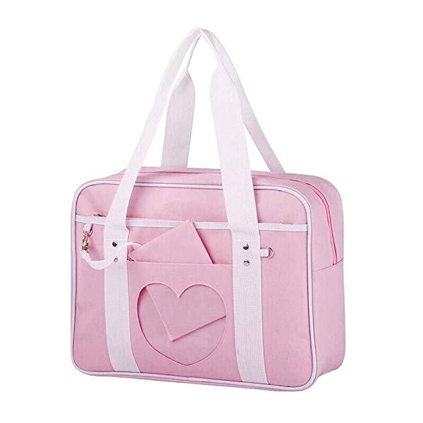 School style ita bag in Pink cover